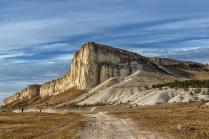 Белая скала,Крым