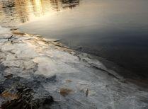 Первый лед.