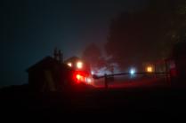 Тихий туманный вечер