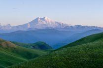 Закат у Эльбруса