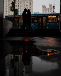 любовь в большом городе.