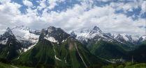 Панорама Кавказкого хребета