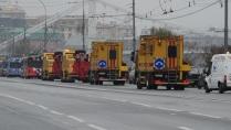 Путь на выставку троллейбусов