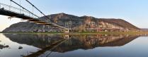 Панорама горы Уклы Кая и деревни Таш Асты