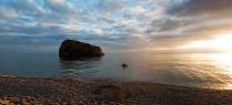 Закат на Яшмовом пляже