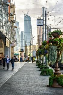 На московских улицах.