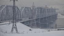 Зима над Енисеем