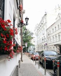 Европейский переулок в столице России