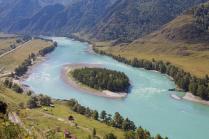 Бирюзовая река Катунь