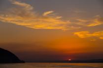 Закат в Самарской Луке