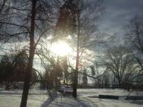 Зима в Прибрежном