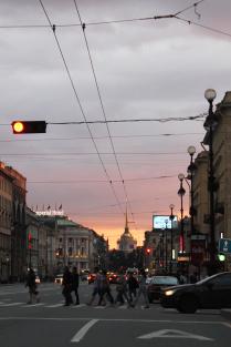 Краски вечернего Петербурга