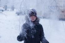 Счастливые зимние моменты.