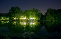 Вечер в парке.