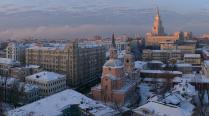 Архитектурная перекличка Москвы у Красных ворот