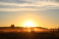 Первые лучи солнца