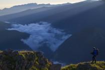 В горах Кавказского заповденика.