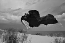 Парящая над дюной