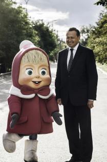 Маша и мэр