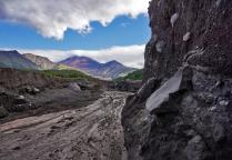 К Авачинскому вулкану по руслу Сухой речке
