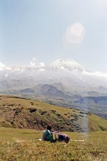 Маленький человек и большой вулкан