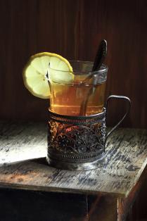 Про чай с лимоном