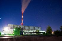 Теплоэлектроцентраль номер пять. Новосибирск