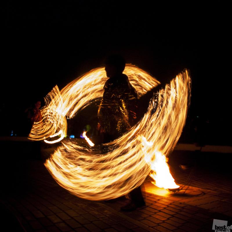Танец с огнём
