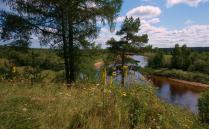 К северу от Вологды