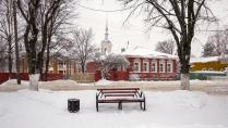 В Вологде снег