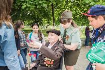 Ветеран и дети