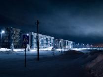Иннополис зимой