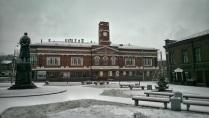 Площадь перед Камерным театром