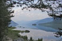Тихий вечер на озере Фролиха