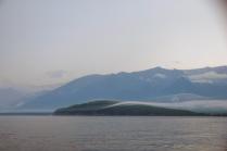 Утренний туман над Байкалом