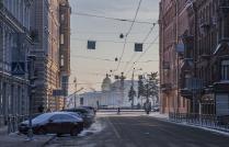 Морозный Петербург