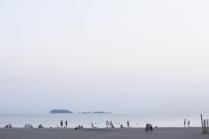 Лето. Пляж. Вечер.