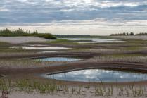 Озерца в песках