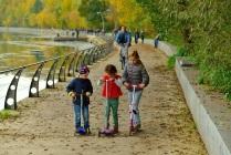 Осенний выходной в Филёвском парке.