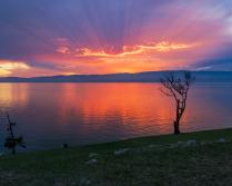 Ольхонский закат