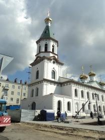 Восстановленный Воскресенский собор