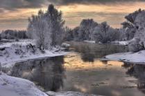 Зима в приглушенных тонах