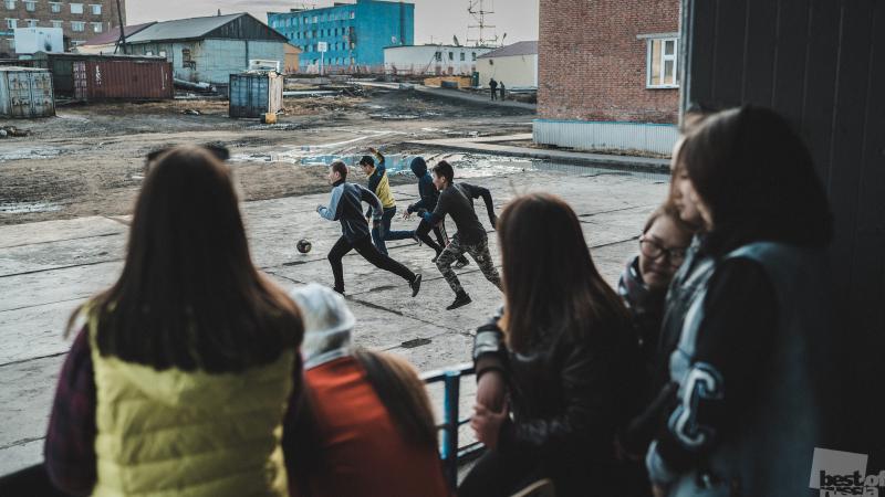 Футбол за полярным кругом