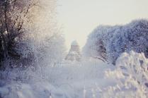 Сретенская церковь зимой