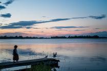 Безмятежный закат на Онеге