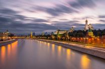 Москва - динамичный город.