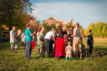 На славянском празднике Радогощь