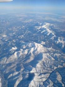 Пролетая над Якутией