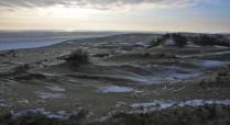 Замерзшие дюны