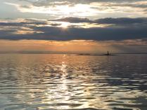 Маяк на Ладожском озере